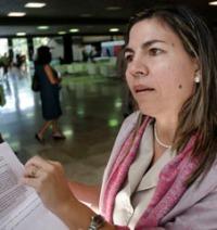 Kenia Serrano comenta sesiones de Comisión internacional de investigación sobre el caso de LosCinco